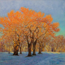 Giovanni Caboto Trees, Oil Painting by Ann McLaughlin